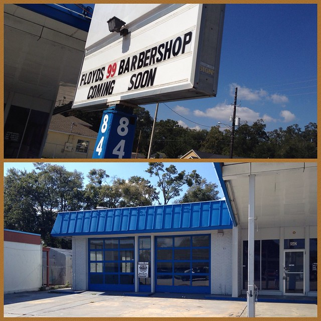 New Floyd's Barbershop on Mills