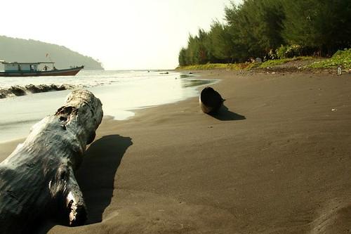 Krakatau Black Sand