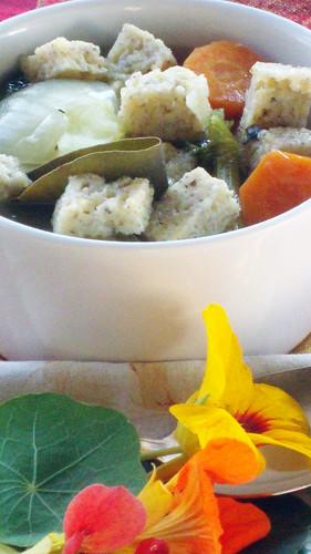 Minestra nel sacchetto - Soup in a bag