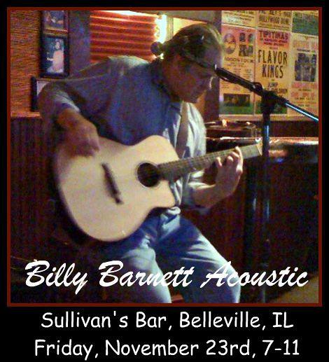 Billy Barnett Acoustic 11-23-12