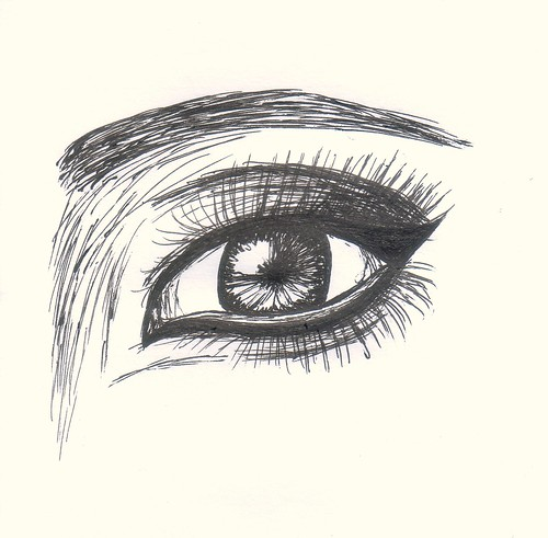 Pentel Libretto Gel Pen Sketch by Tessa Maurer