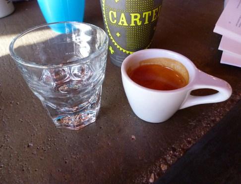 Cartel Coffee espresso