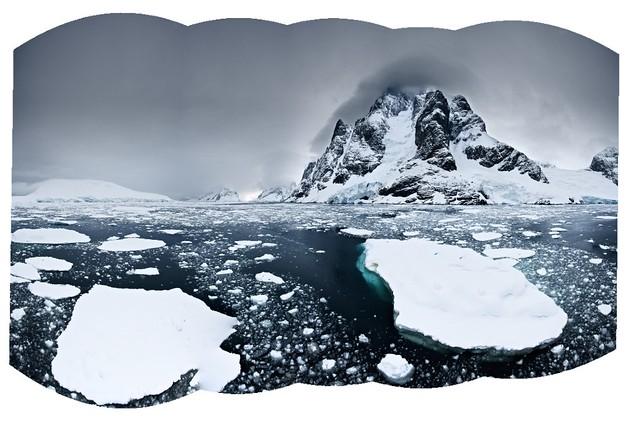 Icy Passage, Antarctica - Version 2
