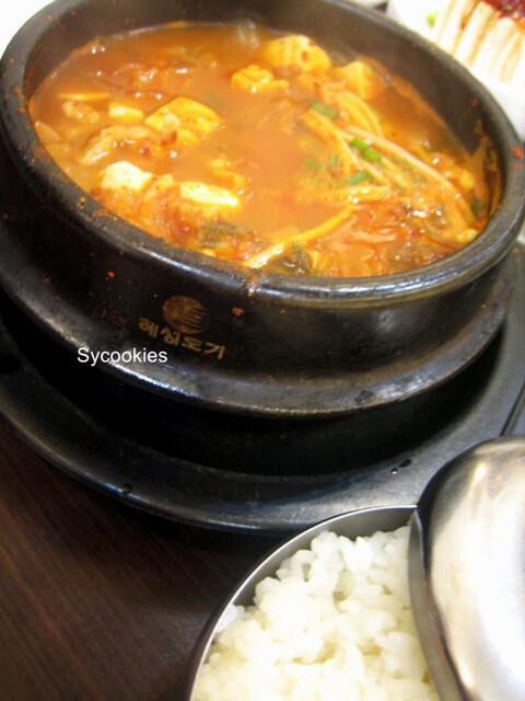 9.kimchi stew @ mr lim korean restaurant