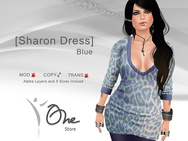 [Sharon Dress] Blue