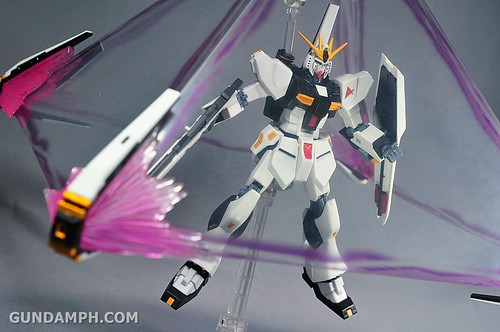 Robot Damashii Nu Gundam & Full Extension Set Review (90)