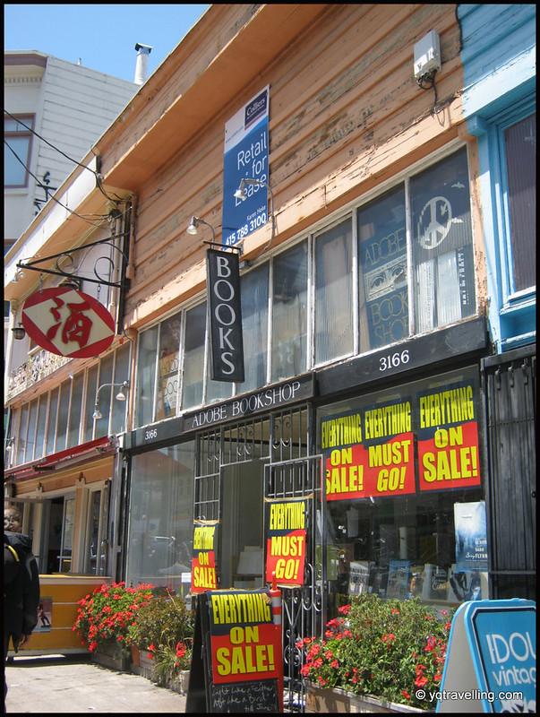 Adobe Bookshop, San Francisco