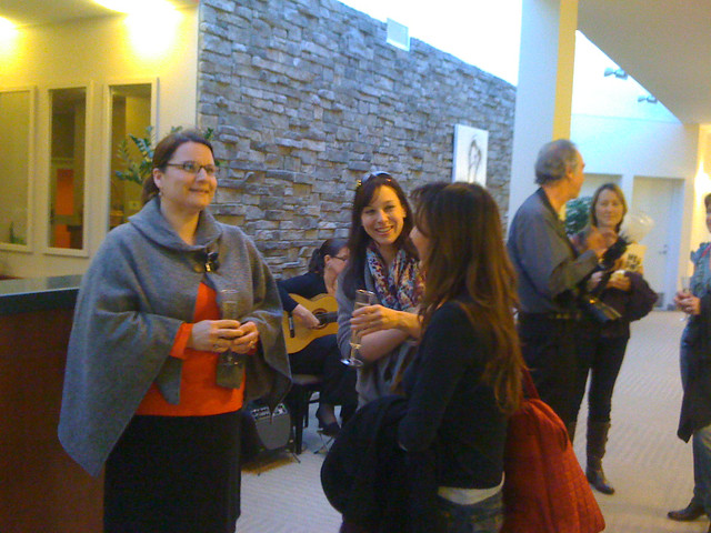 Media and event planners gather at a welcome reception for the Lenox Wedding Tour, which just wrapped its second year. As a former travel writer, being on the planning end was an experience unto itself.