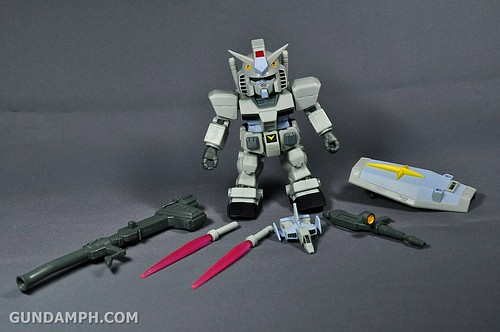 SDGO RX-78-2 (G3 Rare Color Variation) Unboxing & Review - SD Gundam Online Capsule Fighter (9)