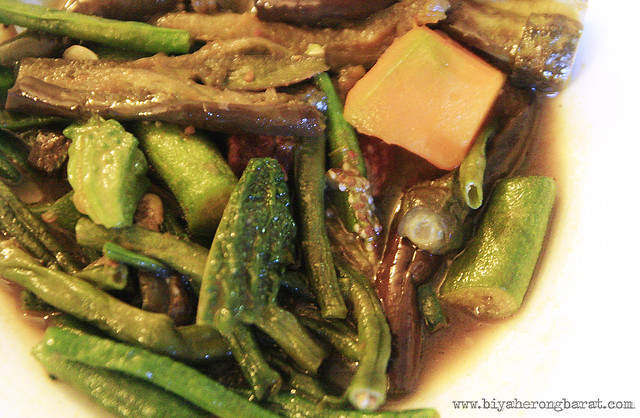 Pinakbet in Cafe Leona