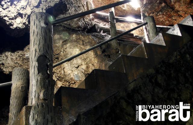 stairs to Enchanted Cave Bolinao Pangasinan