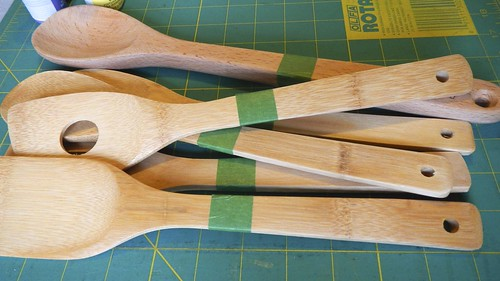 Rainbow Wooden Spoons 3