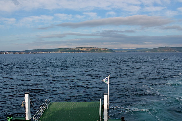 Dardanelles from the ferry