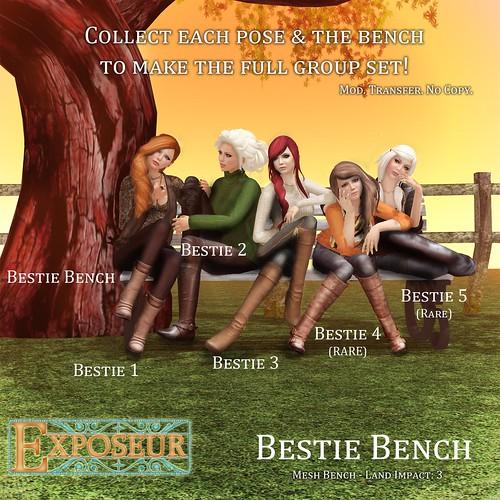 Bestie Bench Gacha