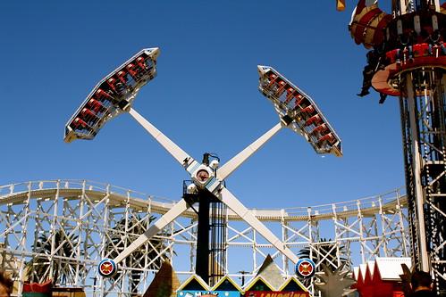 Rides at Luna Park, St. Kilda
