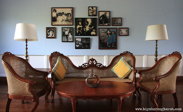living room inside Malacanang of the North