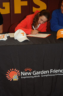 Lucia signing
