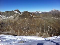 Ausblick Almerhorn Gipfel 2.986 m