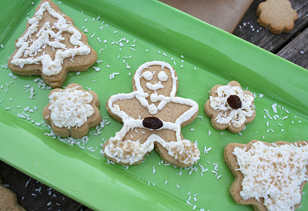Naturally Sweetened, Whole Wheat, Sugar Cookies