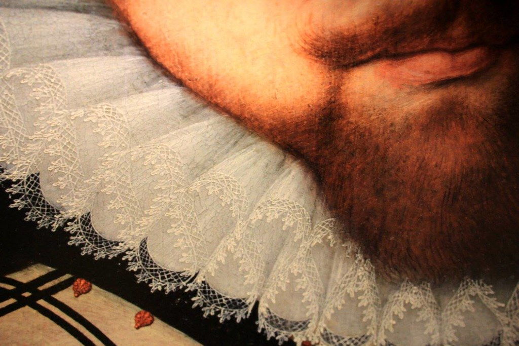 Renaissance artists depicted royals using Brugge lace