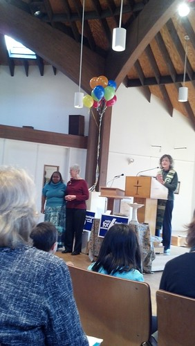 Celebrating the Legalization of Marriage Equality in Maryland at Paint Branch Unitarian Universalist Church