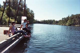 portland camping river