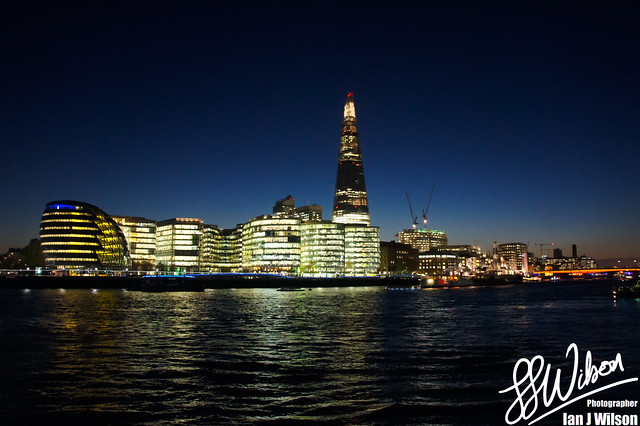 London City Skyline – Daily Photo (26th December 2012)