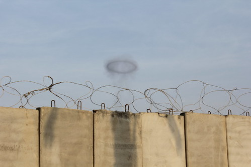 Israeli Rockets hitting Rafah, Palestine