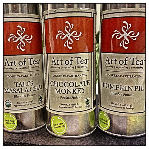 This was waiting for me at work this morning. @artoftea #tea #PhotoToaster