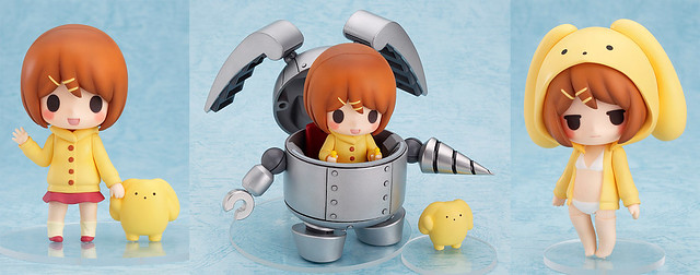 Nendoroid Rin and Wooser + Mechawooser