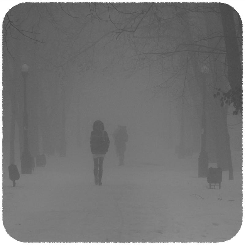 Morning fog by Eugene Romanenko