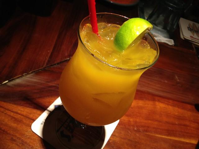 Mango-Rita cocktail - Duke's Waikiki
