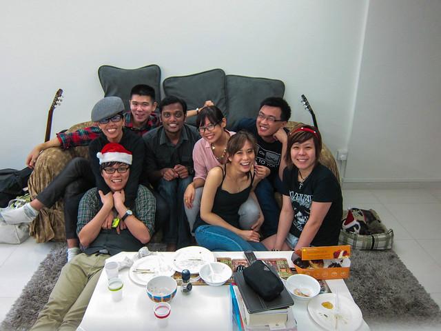 Xmas at Geri's 2012!