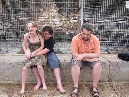 Caitlin, David and Adam