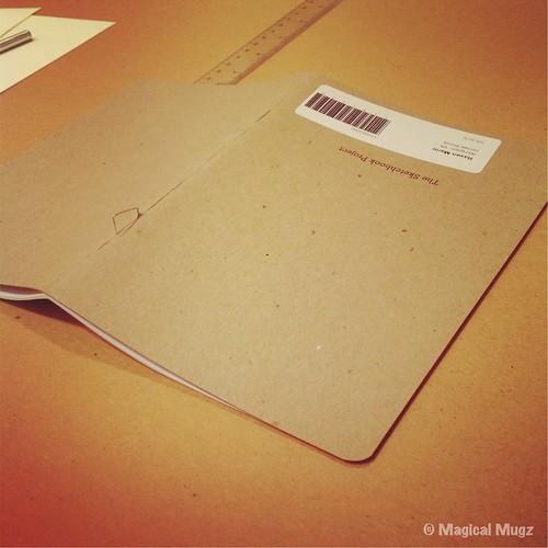 The Sketchbook Project 2013 - Rebinding