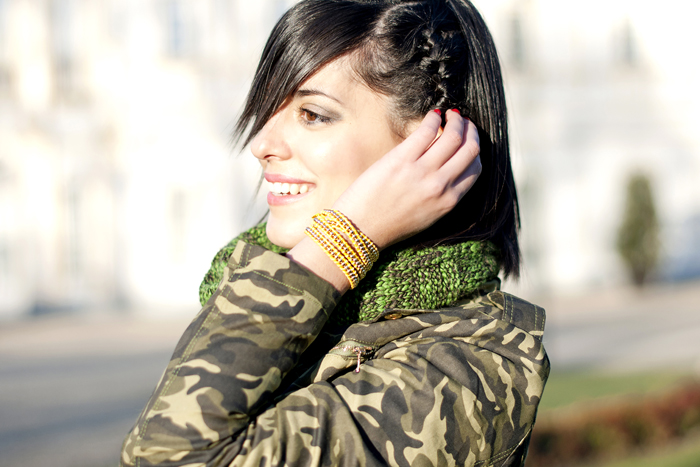 Braid and camouflage