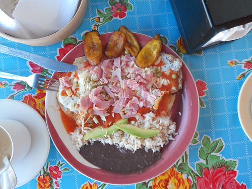 Breakfast at Antojitos La Tuxtlequita in Downtown Tulum 11-12-2011 9-49-41 AM