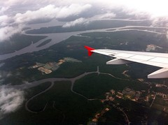 Flying in to Krabi
