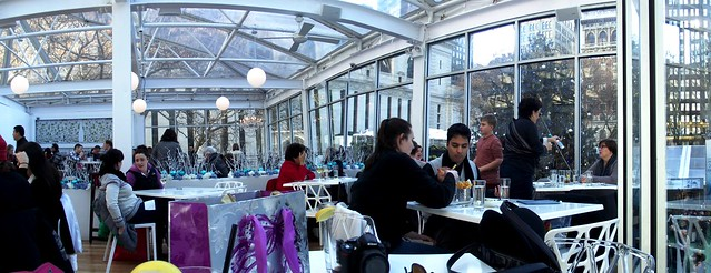 Lunch at Celsius NYC in Bryant Park