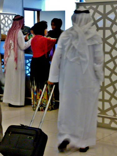 General Views Of Abu Dhabi Airport - Arabian Passenger by Angela Seager