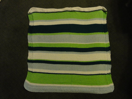 Mixed Stripe Baby Throw