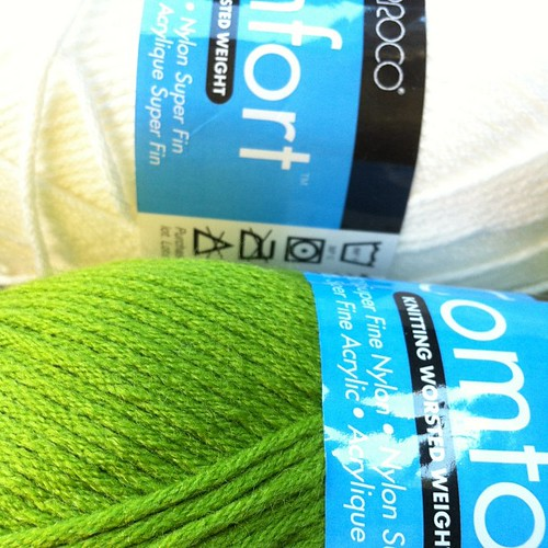 Just picked up yarn for a #sandyhook #scarf