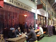 Seven at Brixton, Brixton Market, Southwest London, SW2, SW9
