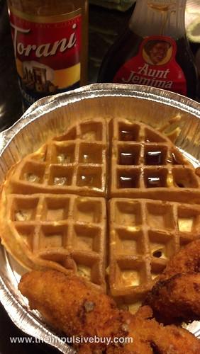 Torani Chicken 'n Waffles On Waffles