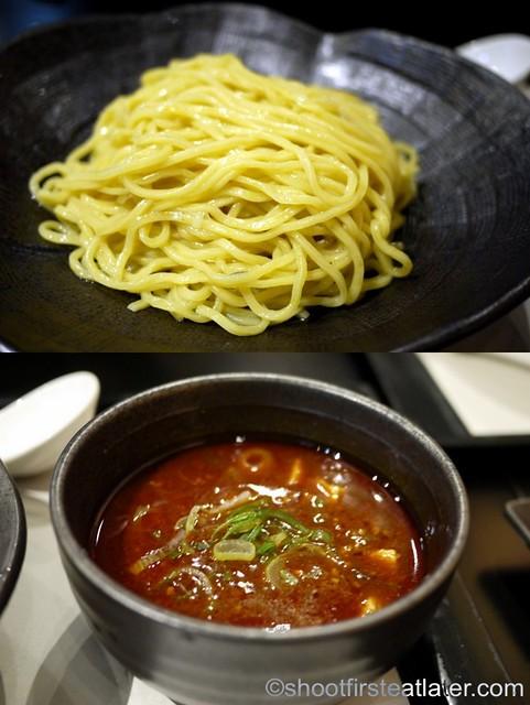 spicy ma bo tofu with pork tsukumen P395