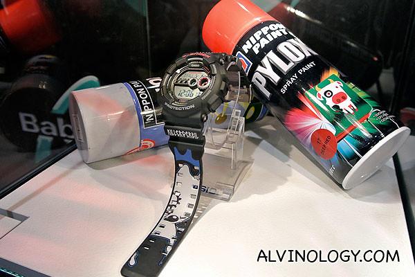 G-Shock GD-100 collaboration model, designed by The Killer Gerbil