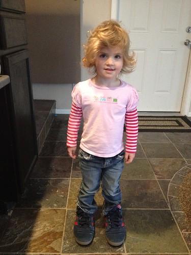 Little Girl, Big Feet