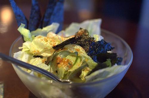 Nori lettuce salad