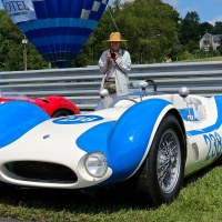 "Lime Rock Historic Festival: Sir Stirling Moss' Maserati Tipo 61 ""Birdcage"""