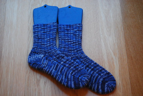 Ribbed stash socks